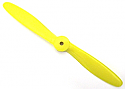 Grish .049 5.5 x 4 Tornado Propeller (Yellow)