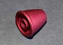 Cox .049 Spinner & Screw - Red (BLEMISHED)