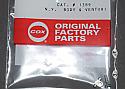 Cox .010 Needle Valve Body & Venturi
