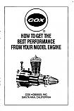 Cox Performance Manual