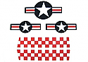 Cox .049 P-51 Mustang Decal Set